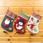 Schattige Kerstman / Sneeuwpop / Eland Kerstsok