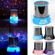 Romantische Blauwe Sterrenhemel Universeel Nachtlicht Dromerige Sterprojector
