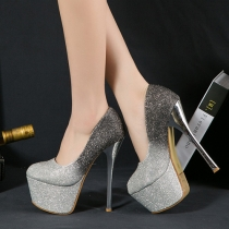 Sexy Bling Super Hoge-hakken Schoenen