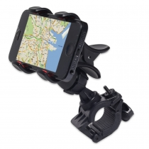 Handlebar Bike Mount Holder for iPhones, samsung galaxy, htc smartphones, GPS Devices and More