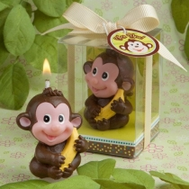 Adorable Monkey Candle