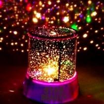LED Nachtlamp Mooie Ster LED Lamp Projector, Nachtkast Lichten Met USB Kabel