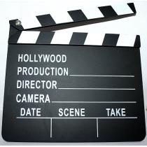 Hollywood Director's Film Movie Slateboard Clapper