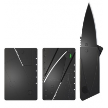 Credit card formaat Knipmes (Black Blade)
