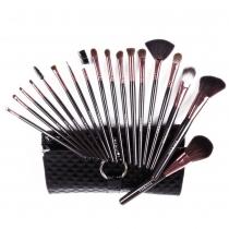 Professional Elegant 18 pcs Makeup Cosmetic Brushes Set Kit with Case
