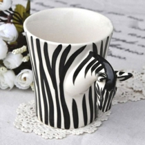 Modern Zebra Handgemaakt Beker