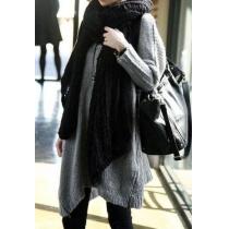 Warm Elegant Pure Kleur Mohair Dames Open Gebreid Sjaal