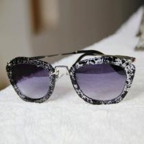 Vintage Retro Round Frame Sunglasses