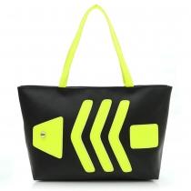 Fresh Style All-match Contrast Color Handbag Shoulder Bag