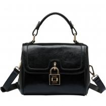 Fashion Lock Closure Multifunction Handbag Shoulder Bag Cross Body Bag