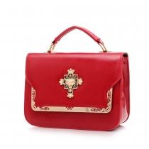 Fashion Candy Color Hangbag Cross Body Bag