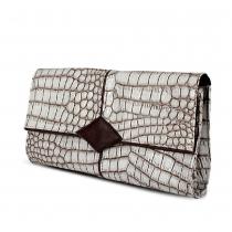 Fashion Stone Pattern Envelope Clutch