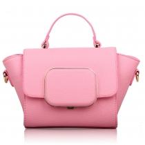 Fashion Lichee Pattern Multifunction Handbag Shoulder Bag Cross Body Bag
