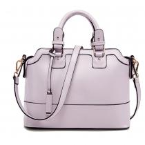 British Style Solid Color Handbag Shoulder Messenger Bag