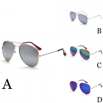 Retro Kleurrijk Anti-UV Unisex Zonnebrillen