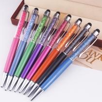 2 in 1 Kleurrijk Kristal Stylus Pen