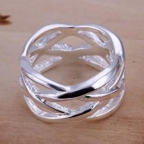 Mode Uitgehold Visnet Gevormd Ring