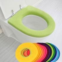 O-vormig Wasbaar Zacht Toilet Zit Pad