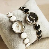 Mode Legering Horloge Band Ronde Wijzerplaat Quartz Horloges