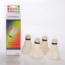 4stuks/Set LED Lichtgevend Badminton