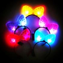 LED Lichtgevend Strik Hoofdband