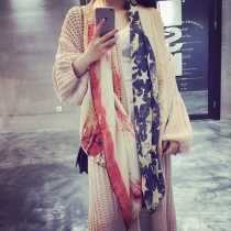 Mode Batik Geprinte Das Sjaal