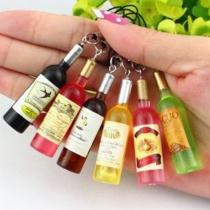 Creatieve Stijl Rode Wijn Fles Telefoon Riem Telefoon Hanger