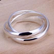 Mode Zilveren Tint Ring