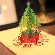 Leuke 3D Kerstboom Kerstmis