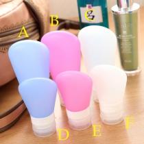 Portable Siliconen Fles Mascara-Penseel