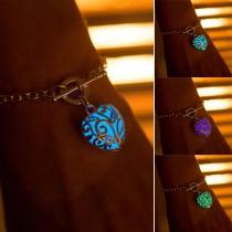 Modern Stijl Lichtgevend Hartvormige Hanger Armband