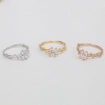Elegant Dendriet Kronkelend Vlinder Ring