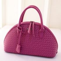 Fashion Shell-shaped Braided Style Handbag Shoulder Messenger Bag