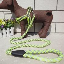 5 kleuren Verstelbare Reflecterende Nylon Huisdieren Harness halsband