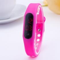 Multi Kleuren Sport stijl siliconen Aanraking scherm digitale LED horloges