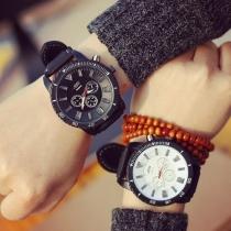 Mode Silicone Horloge Band Rond Wijzer Lichtgevend Horloges