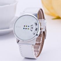 Mode PU Leer Kleurrijk Wijzer Vrouwen Horloge