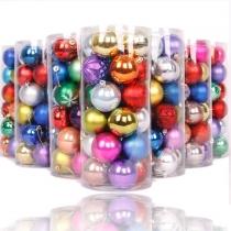Kleurrijke Kerstmis Ballen Kerst Versieringen