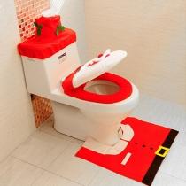 4 stuks/Set Toiletdeksel Decoratie