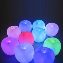 Schattig Appelvorm Kleurrijk Nachtlicht