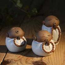 Leuk Kleine Monnik Theepot Tea Set