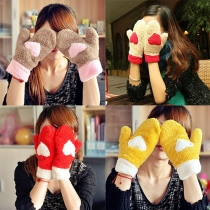 Sweet Candy Kleur Warm Pluche Wanten Handschoenen