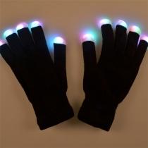 Creatieve Kleurrijke LED-verlichte Hanschoenen