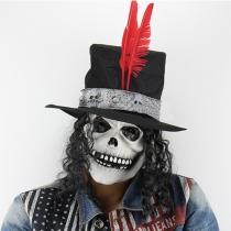 Creatieve Stijl Halloween Masker Schedes Lange Haren