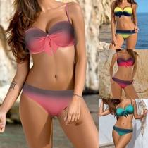 Sexy Push-up Bikiniset met Kleurverloop