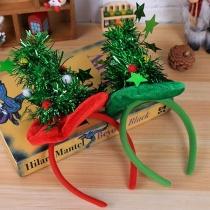 Creatief Haarband met Kerstboompje