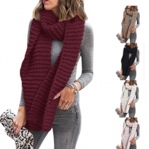 Moderne sjaal Sjaal met Effen Kleur