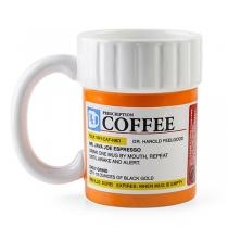 Creatieve Keramische Koffiemok met Doktersrecept