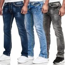 Modern Jeans met Middelhoge Taille