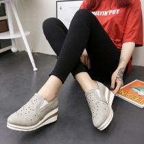 Modern Schoenen met Sleehakken Ronde Neuzen en Strasssteentjes